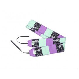 "UNBROKEN DESIGNS - ""Block Party"" Wrist Wraps"
