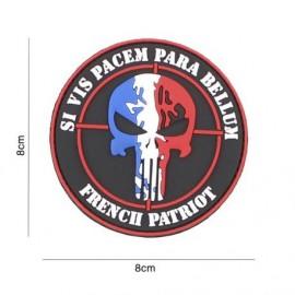 "DR WOD - Patch Velcro PVC ""Para Bellum français"""