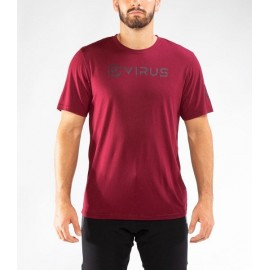 "VIRUS - PC109 | Camiseta Forever ""Maroon"""