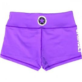 "SAVAGE BARBELL - Women Booty Short ""Purple"""