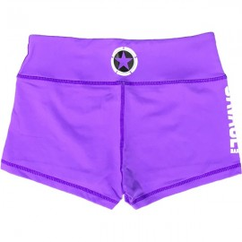 "SAVAGE BARBELL - Short Femme ""Purple"""