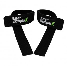 BEAR KOMPLEX - Black lifting straps