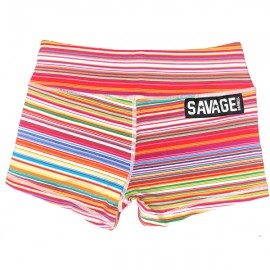 "SAVAGE BARBELL - Women Booty Short ""Candy Shop"""