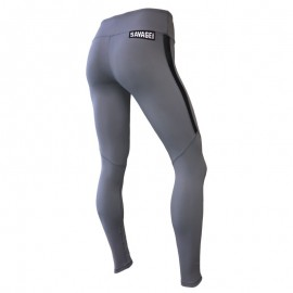 "SAVAGE BARBELL - Leggings Femme ""Alloy"""