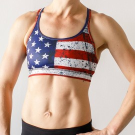 "BORN PRIMITIVE - Sostén ""Warrior Sports Bra - Undefeated Edition"""