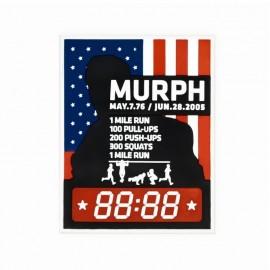 "DR WOD - Patch Velcro PVC ""Murph"""
