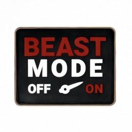 "DR WOD - Patch Velcro PVC ""Beast Mode"""