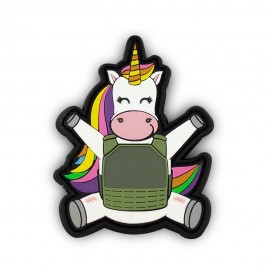 "DR WOD """"Unicorn"" Rubber Velcro Patch"