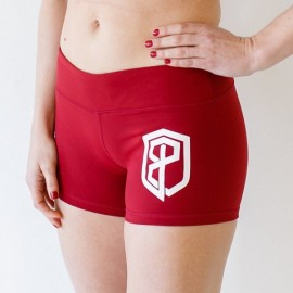 "BORN PRIMITIVE - Women Short ""Renewed Vigor Booty Short"" Wine dr wod"