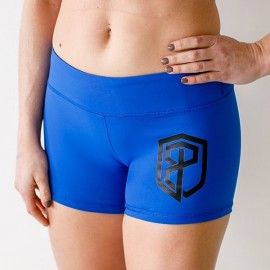 "BORN PRIMITIVE - Short Femme ""Renewed Vigor Booty Short"" Royal Blue dr wod"