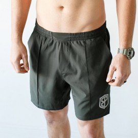 "BORN PRIMITIVE Short Homme ""Training Shorts"" Tactical Green dr wod"