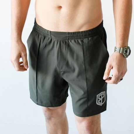 "BORN PRIMITIVE Men Short  ""Training Shorts"" Tactical Green dr wod"