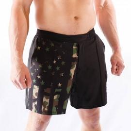 "BORN PRIMITIVE Short Homme ""Training Shorts"" Woodland Patriot dr wod"