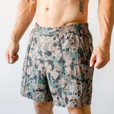 "BORN PRIMITIVE Men Short  ""Training Shorts"" Not Fatigued dr wod"