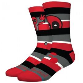 STANCE -Calcetines Deadpool Stripe - DEA- RED
