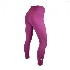 "SAVAGE BARBELL - High Waist Women Leggings ""Merlot"""