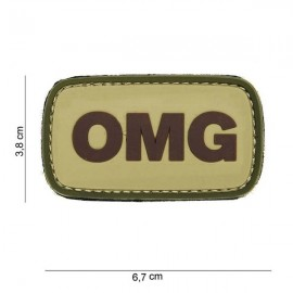 "DR WOD ""OMG"" Velcro Patch"
