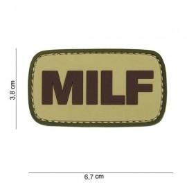 "DR WOD - Patch Velcro PVC ""MILF"""