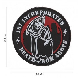 "DR WOD ""Death from above"" Rubber Velcro Patch"