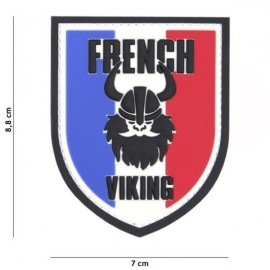 "DR WOD - Patch Velcro PVC ""FRENCH VIKING"""