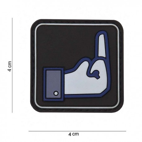 "DR WOD ""Fuck FB"" Rubber Velcro Patch"