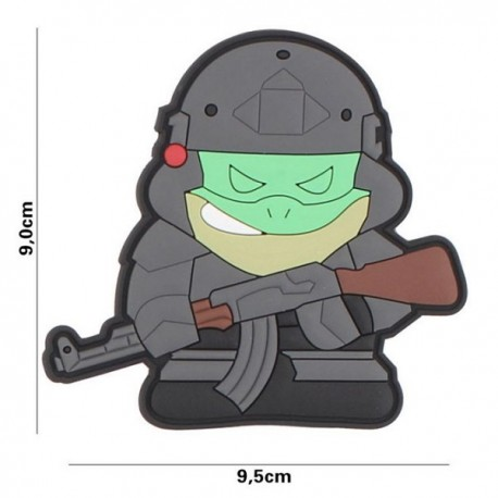 "DR WOD ""Tactical Frog"" Rubber Velcro Patch"