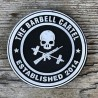 "THE BARBELL CARTEL - Patch Velcro PVC ""Jolly Roger"""