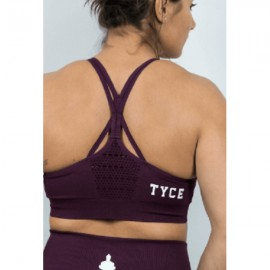 TYCE - Women Sports Bra Plum