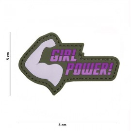 "DR WOD - Parche Velcro PVC ""Girl Power"""
