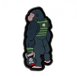 "DR WOD """"Gorilla"" Rubber Velcro Patch"