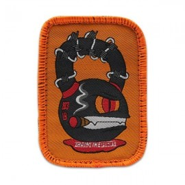 "DR WOD - ""Kettle Monster"" Woven Velcro Patch"