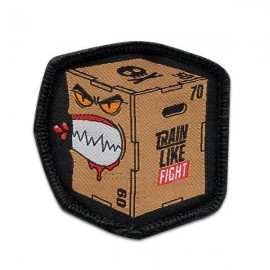"""DR WOD - """"Canibal Box"""" Woven Velcro Patch"""