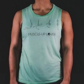 FRAN CINDY - Muscle Up Lover Women's Tank Mint