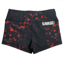 "SAVAGE BARBELL - Women Booty Short ""Ember"""