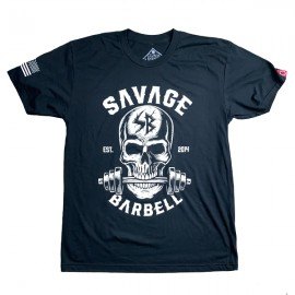 "SAVAGE BARBELL - Men T-Shirt ""Bite Me """