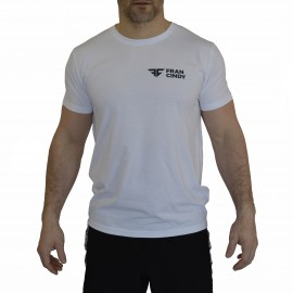 FRAN CINDY - Tee-Shirt Homme Blanc
