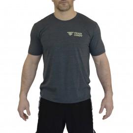 FRAN CINDY - Tee-Shirt Homme Gis