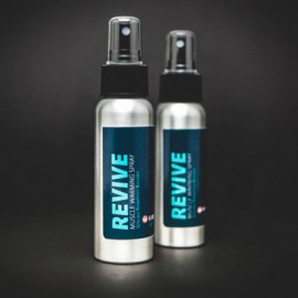 SIDEKICK - REVIVE Spray de calentamiento muscular (paquete de 2)
