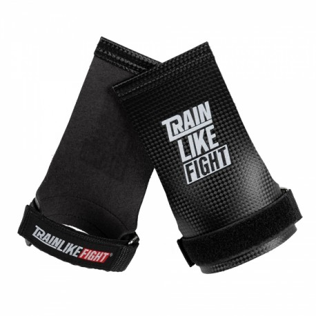 TRAIN LIKE FIGHT - LOUD No-hole Carbon Hand Grips