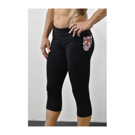 drwod_femme_leggings_court_fitness_angeldelmar_side_noir_skull