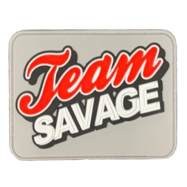 "SAVAGE BARBELL - Patch Velcro PVC ""Texas Savage"""