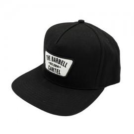 "THE BARBELL CARTEL - Casquette ""SNAPBACK"" Classic Logo Black"