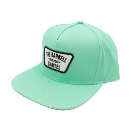 """THE BARBELL CARTEL - Casquette """"SNAPBACK"""" Classic Logo Mint"""