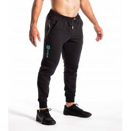 VIRUS - ICONX  Black Blu - Pantalones de recuperación activa