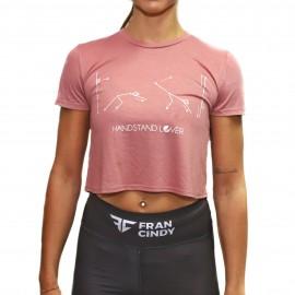 FRAN CINDY - Crop Top Femme Handstand Lover