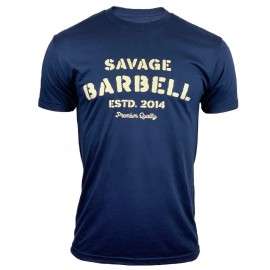 """SAVAGE BARBELL - T-Shirt Homme """"PREMIUM SINCE 2014"""""""