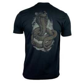 """SAVAGE BARBELL - T-Shirt Homme """"COBRA"""