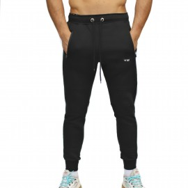 FRAN CINDY - Unisex Joggers - BlackFRAN CINDY - Jogging BLACK STRUCTURE JOGGER