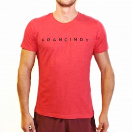 FRAN CINDY - Tee-Shirt Homme RED LETTER TEE