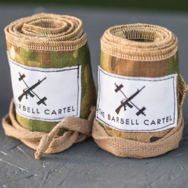 THE BARBELL CARTEL - Protège poignets coton CAMOUFLAGE